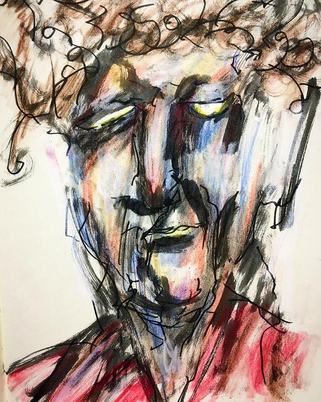 adaichiz今日の一枚【引退】  #絵 #芸術 #アート #アートワーク #イラスト #らくがき #スケッチ #モレスキン #アーティスト #絵師 #妄想 #大智 #art #artwork #illustration #artistic #artist #drawing #sketch #painting #creative #character #moleskine #Daichi2017/11/05 20:32:06