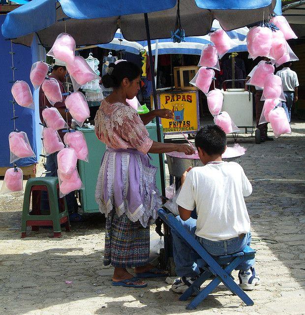 Zucchero filato Cotton candy, Guatemala, Baby strollers
