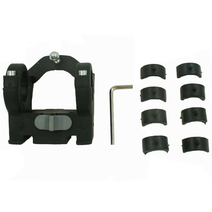 Cycling Front Basket Mount Bike Handlebar Bag Clamps Plastic LED Holders Clip 15x15cm Bicycle Accessories Basket Buckle