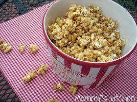 Mommy's Kitchen: Homemade Cracker Jack Popcorn