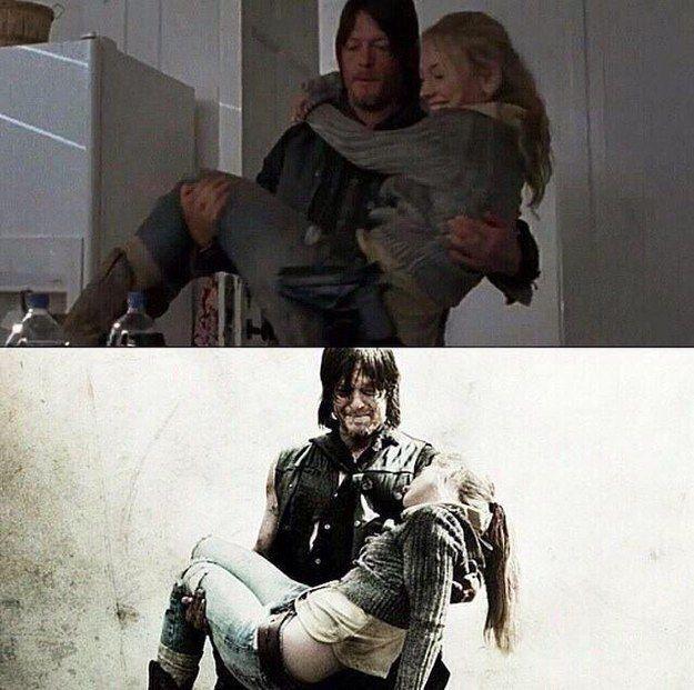 J'aime regarder la tele. Mon emission de tele est The Walking Dead.
