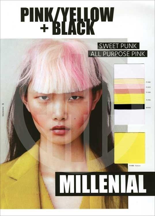 Hair Color Ideas Spring 2020 A+A Concept Color Trends A/W 2019/2020 | trends | Color trends