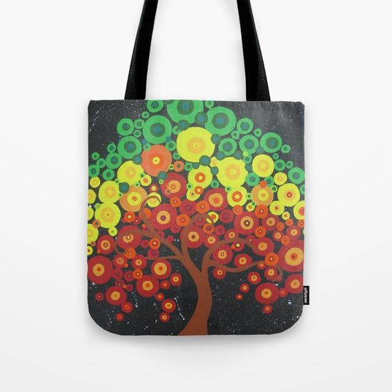 "Tree of life bag, useful for market trips, many sizes ,  Yoga bag  Tree of life  By SheerJoy.etsy.com  So cute!  Our quality crafted Tote Bags are hand sewn in America using durable, yet lightweight, poly poplin fabric. All seams and stress points are double stitched for durability. Available in 13"" x 13"", 16"" x 16"" and 18"" x 18"" variations, the tote bags are washable, feature original artwork on both sides and a sturdy 1"" wide cotton webbing strap for comfortably carrying over your…"