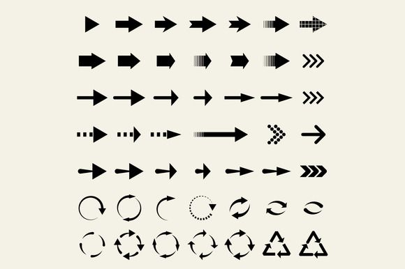 Universal arrows by Leone_v on Creative Market