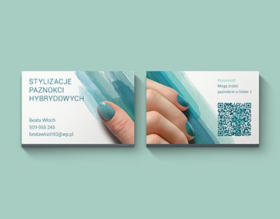 """Check out new work on my @Behance portfolio: """"Nail art business card"""" http://be.net/gallery/50414477/Nail-art-business-card  #business-card #nail-art"""