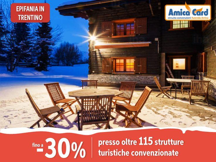 SE LA BEFANA ARRIVASSE IN SNOWBOARD? Concediti il week end dell'Epifania sulla #neve in #Trentino, risparmiando fino al 30% grazie ad oltre 115 strutture turistiche convenzionate Amica Card. Registrati subito e scarica gli #sconti su AmicaCard.it #epifania #vacanze #snowboard #risparmio #amicacard #convenzioni #letitsnow #snow #christmasholiday