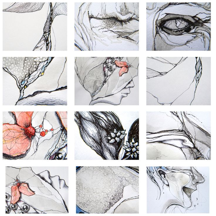 Ink drawings 2014-15