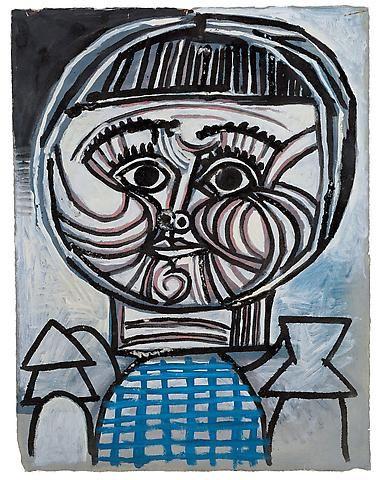 Pablo Picasso, Portrait d'enfant: Paloma, 1952