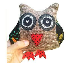 Classic Mintchi Owl - Floral SML