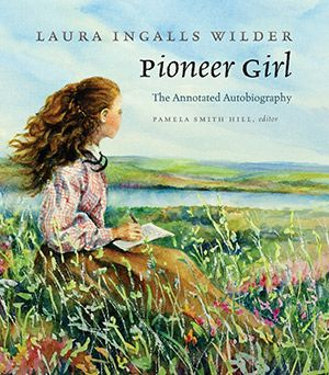 Pioneer Girl, by Laura Ingalls Wilder. her original biography before it was broken down into children's books. This makes me happy.