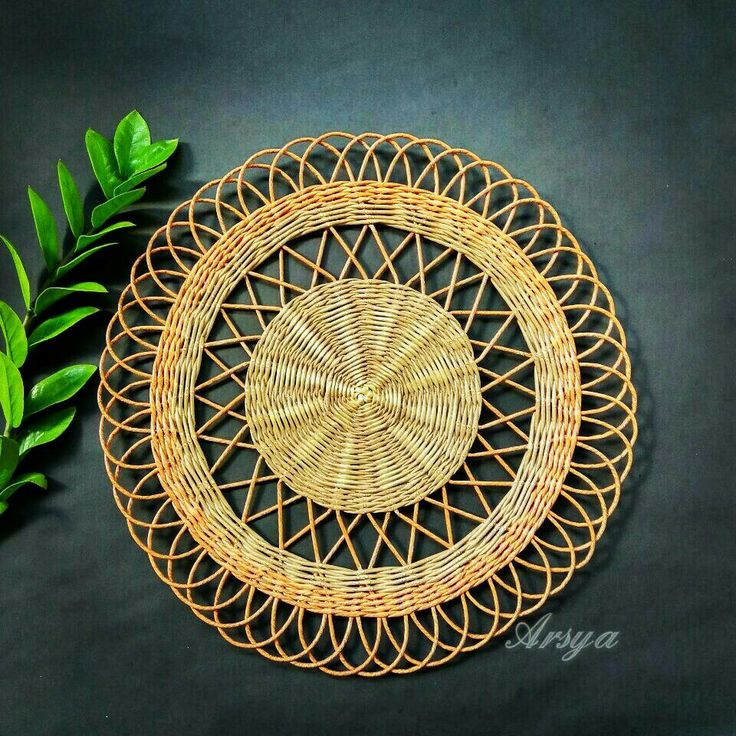 Vintage decoration, paper work, anyaman kertas
