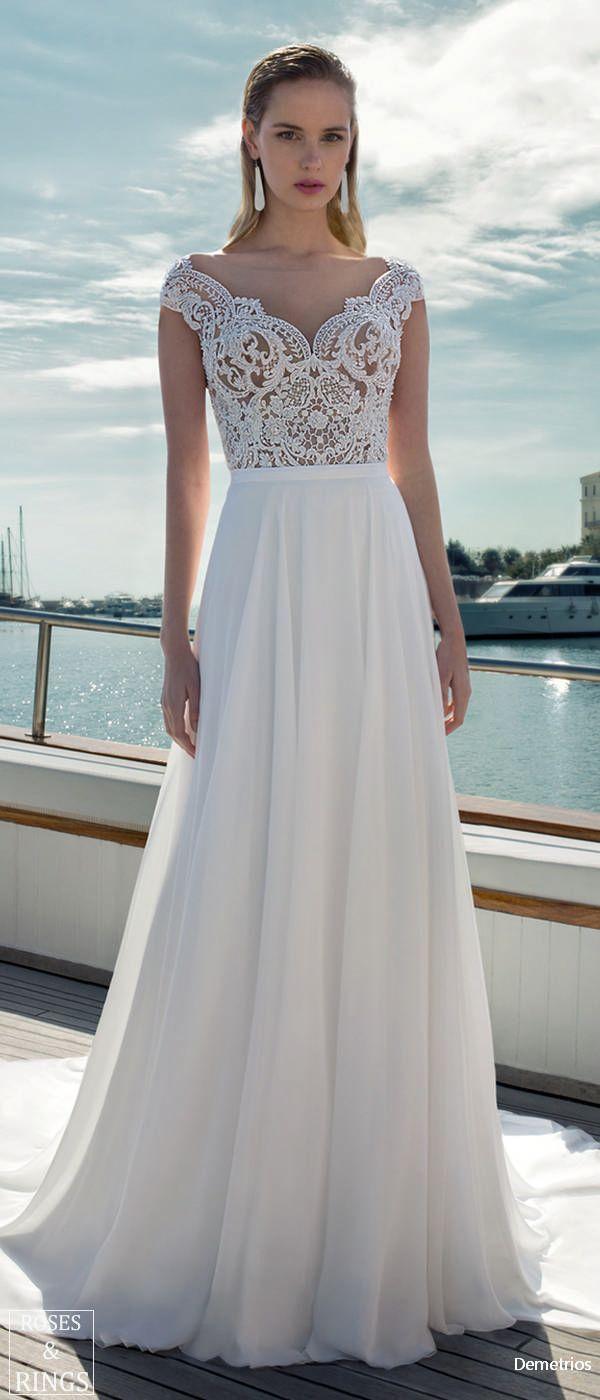 Demetrios Destination Beach Wedding Dresses 2019 Bridal Dresses