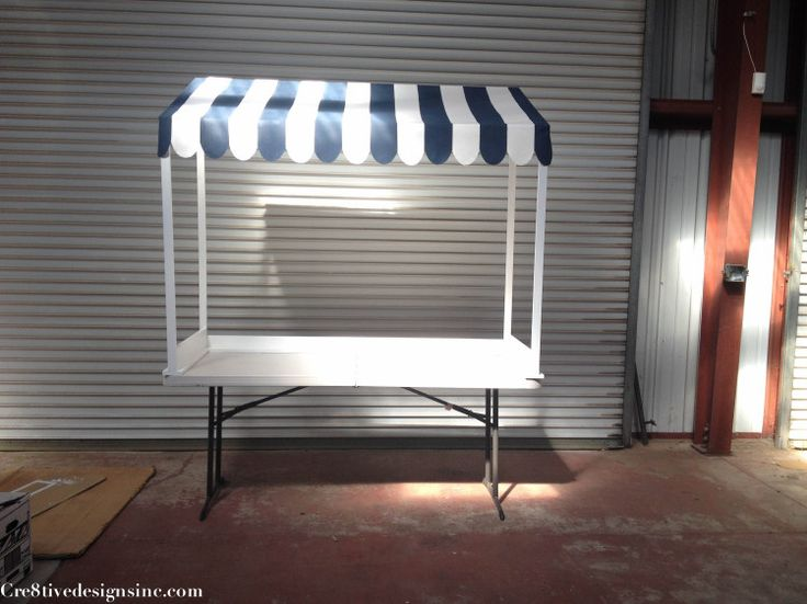 ice cream/lemonade stand canopy