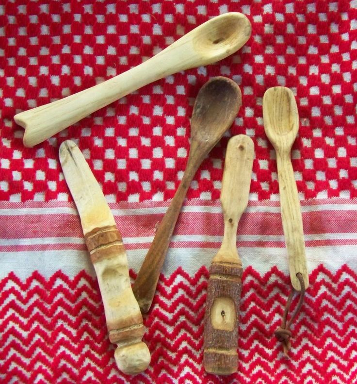 Holzlöffel und Spatel