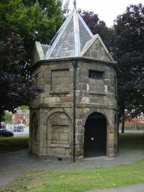 The Lock-up built 1796 (wavertree) kept prisoners,no home comforts here!