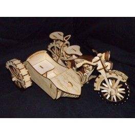 Motorcycle Sidecar Puzzle