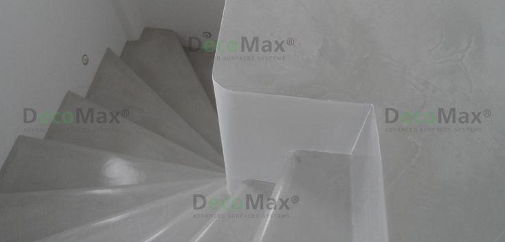 Πατητή Τσιμεντοκονία σε Σκάλες - dapedotexniki #stairs #micro-topping #design2016