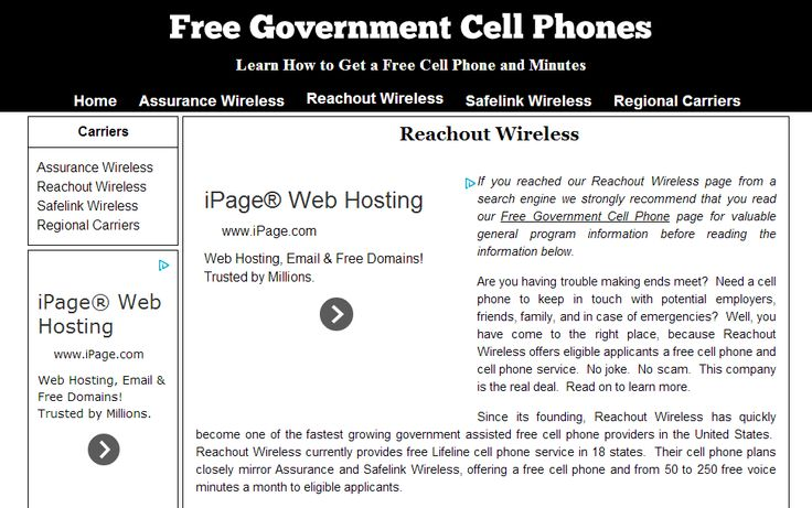 http://freegovernmentcellphone.biz/reachout-wireless/ - Reachout Wireless application come have a look at our site. https://www.facebook.com/bestfiver/posts/1430112573868380