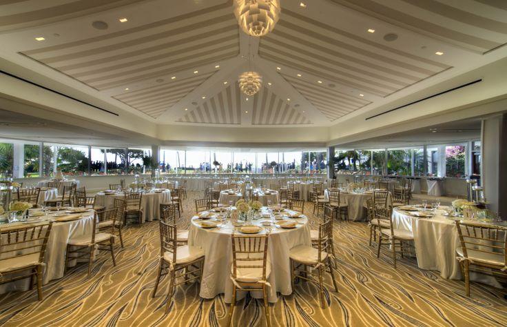 Naples Florida Beach Weddings: The Newly Renovated Everglades Ballroom At The Naples