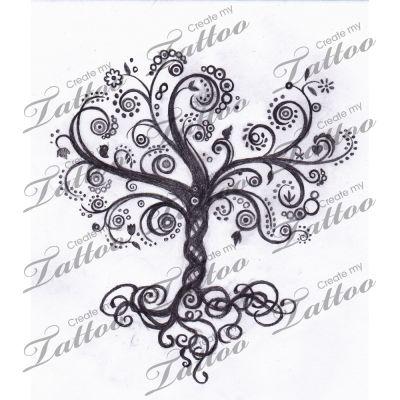 Tree of Life Symbol Tattoo | Tree Of Life With Infinity Symbol 13204 Createmytattoocom