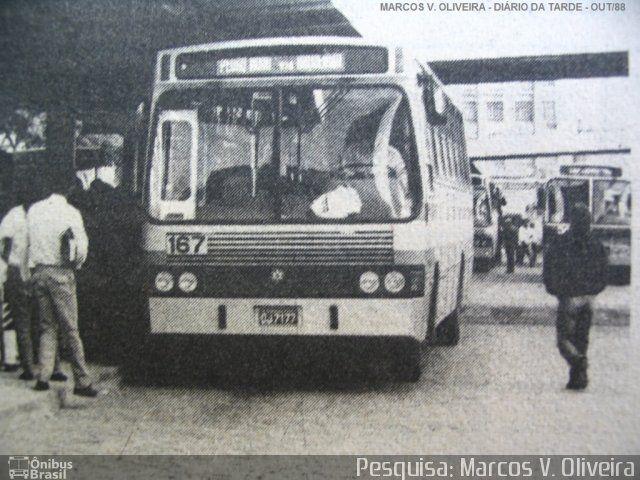 Auto Viação São José dos Pinhais 167 em Curitiba-PR por Pesquisa: Marcos V. Oliveira - Ônibus Brasil