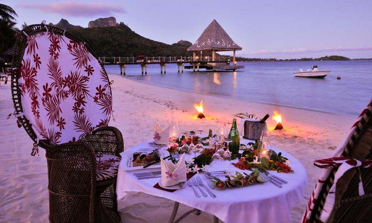 InterContinental Bora Bora Le Moana Resort, Romantic Dinner