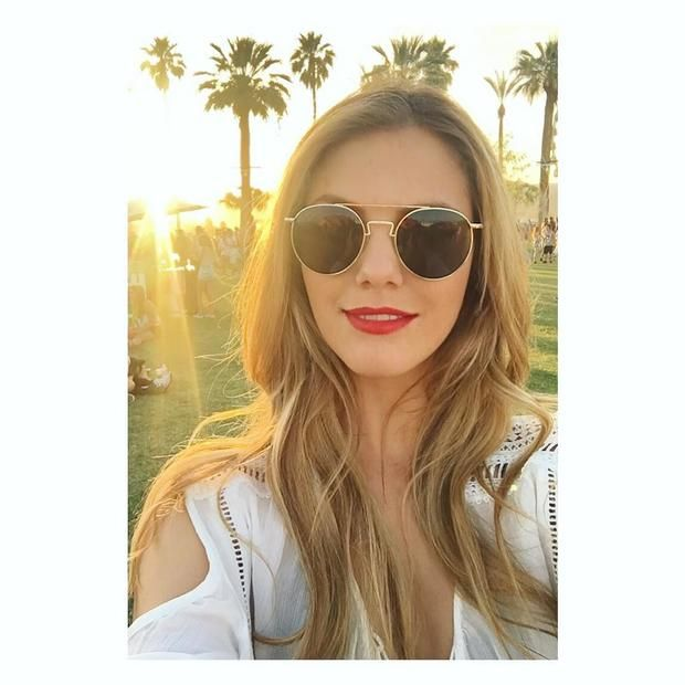 Viviane Geppert beim Coachella Festival