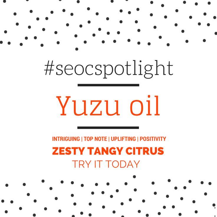 #SEOCSpotlight | Yuzu Oil Japan | New Essential Oil | Online at www.seoc.com.au