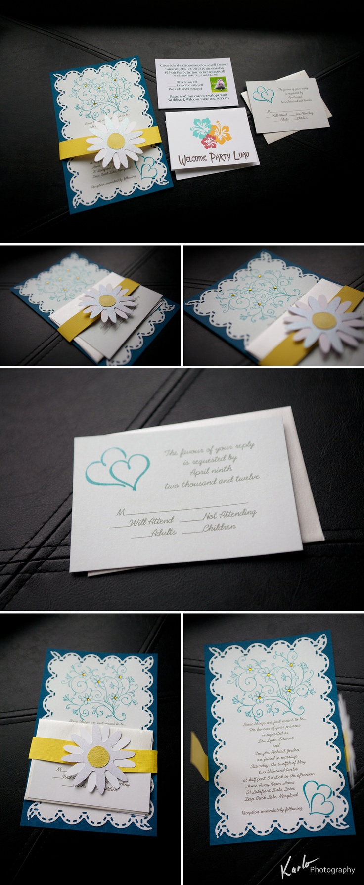 Check out this gorgeous wedding invitation I
