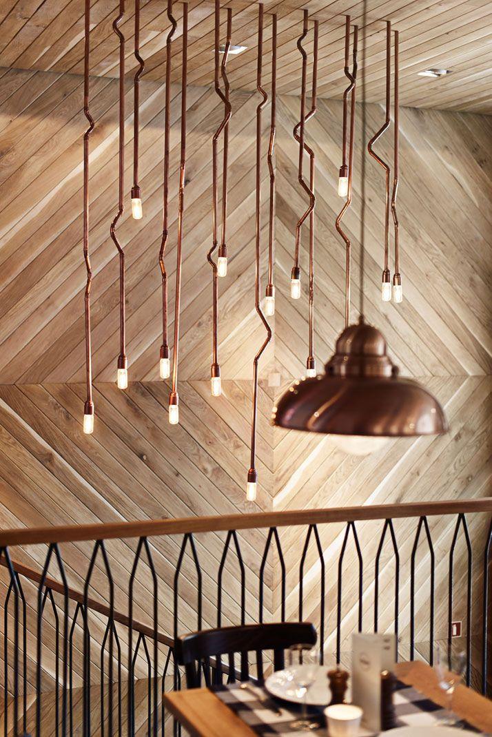 Copper Pipe Pendants - Luke@e2lighting.co.uk