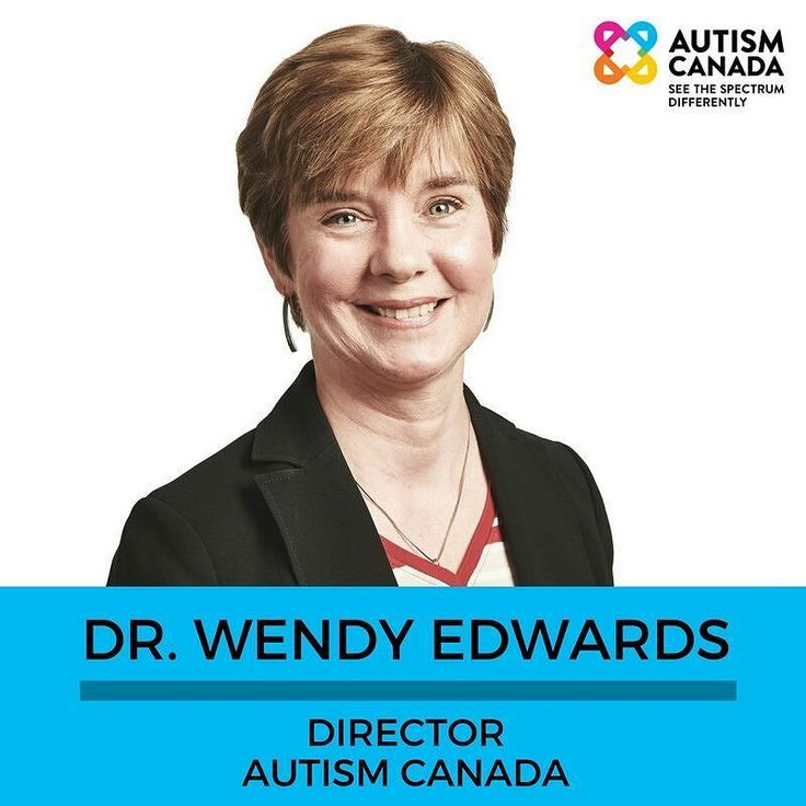 #MeetTheTeam Wendy is also a member of Autism Canada's Professional Advisors Committee.