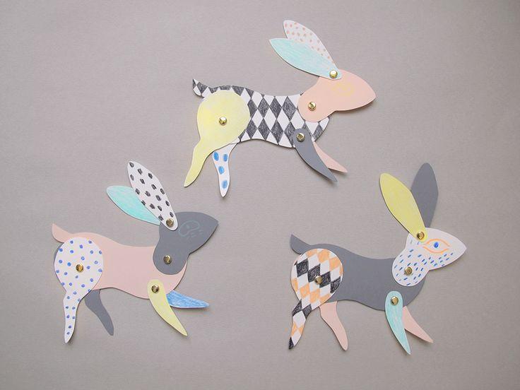 DIY Paper Bunny
