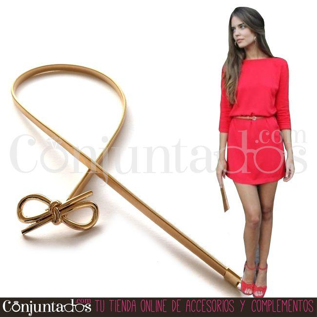 Cinturón metálico dorado Bow ★ 11'95 € en https://www.conjuntados.com/es/cinturones/cinturon-metalico-dorado-bow.html ★ #novedades #cinturón #belt #conjuntados #conjuntada #accesorios #complementos #moda #eventos #bodas #invitadaperfecta #perfectguest #party #fashion #fashionadicct #picoftheday #outfit #estilo #style #GustosParaTodas #ParaTodosLosGustos