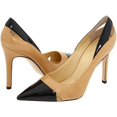 Cap Toe Pumps..relove..  can't help it. spectator pumps are footwear superpower