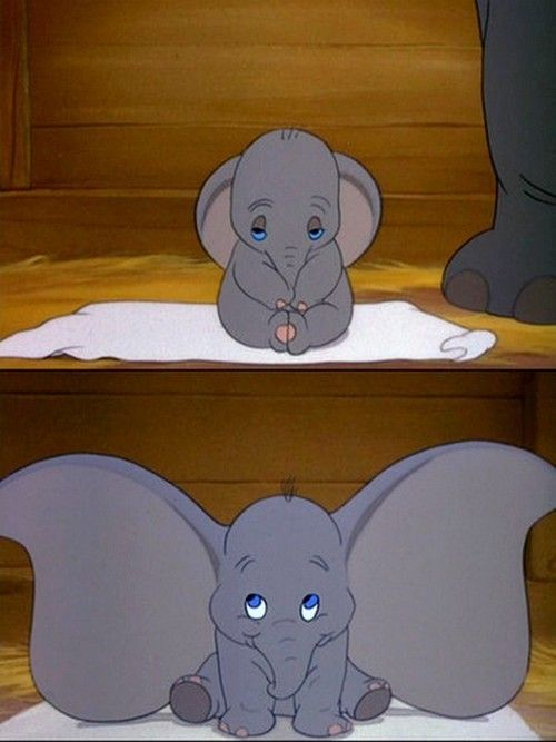 dumbo | Disney Bound  He's soooo cute!! one of my favorite movies growing up <3