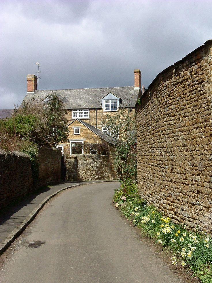 Queen Street, Hook Norton, Oxfordshire, England
