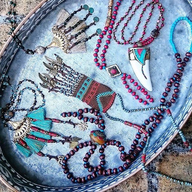 Frolic treasures! Bohemian necklaces
