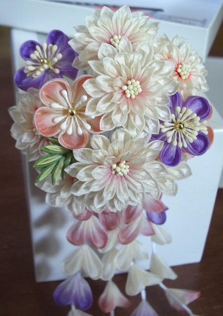 Beautiful Kanzashi