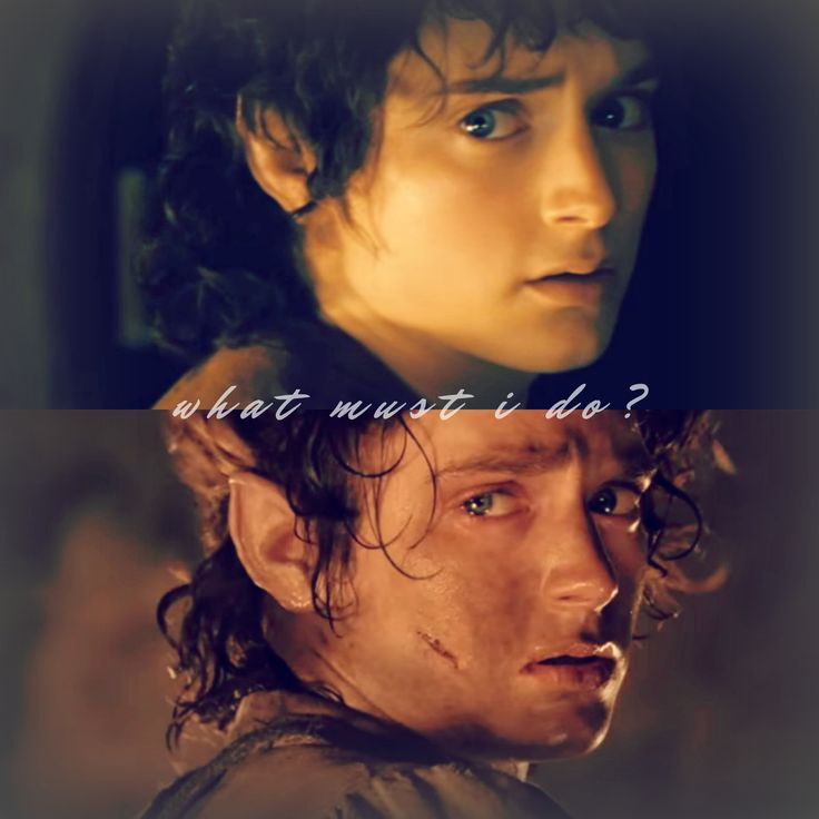 """""""I will take it. I will take the Ring to Mordor."""" // Frodo Baggins"""