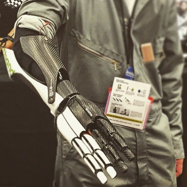 The future is here - great pic @alejomora11  #sxsw #sxwi #bionic #tech #innovation #future #science #robots #robotic #austin #potd #inspiration  (at Austin Convention Center)