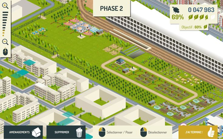"""Concevez les plans d'un véritable parc en jouant à un simili """"Sim City"""""""