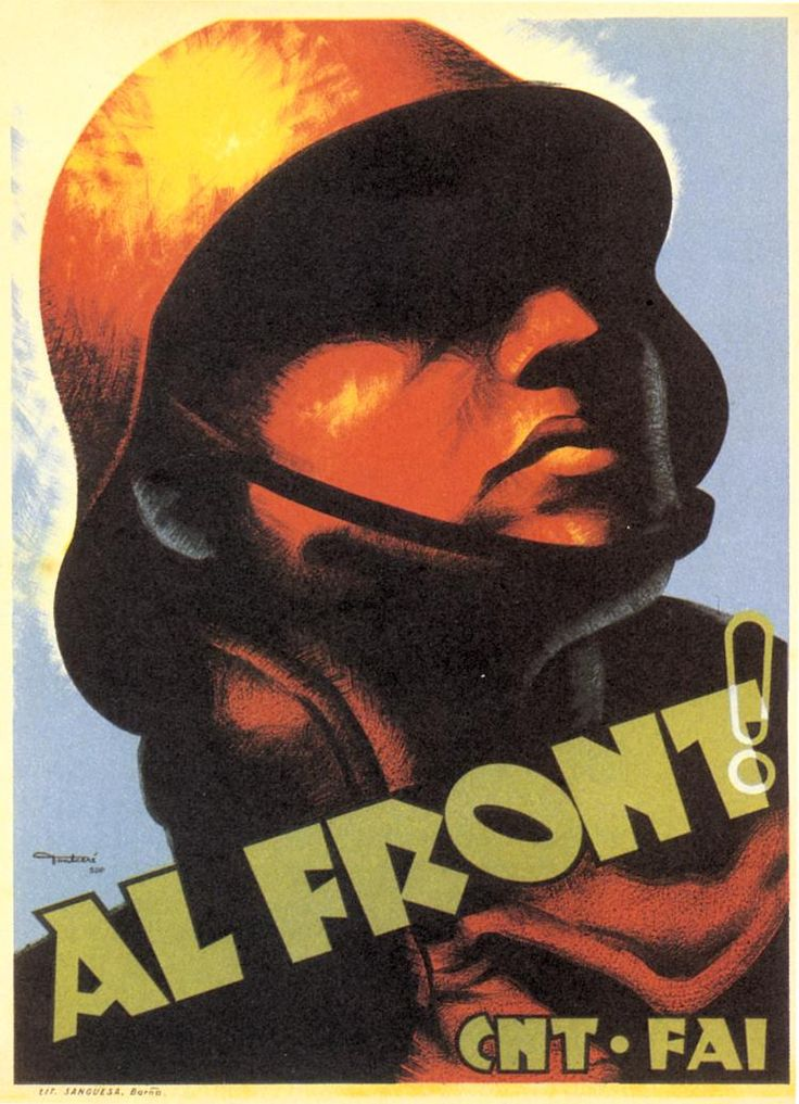 Al Front (To the Front) by Carles Fontserè, 1936. Contributor: Confederación Nacional del Trabajo.