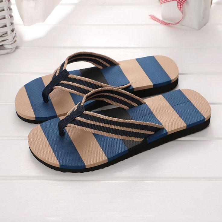 รองเท้าแตะขายส่ง ราคาขายส่ง ฿55.00 รองเท้าแตะผู้ชาย สีริบบิ้น 3 สี