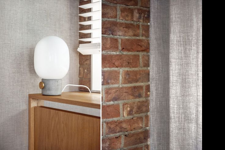 menu concrete lamp