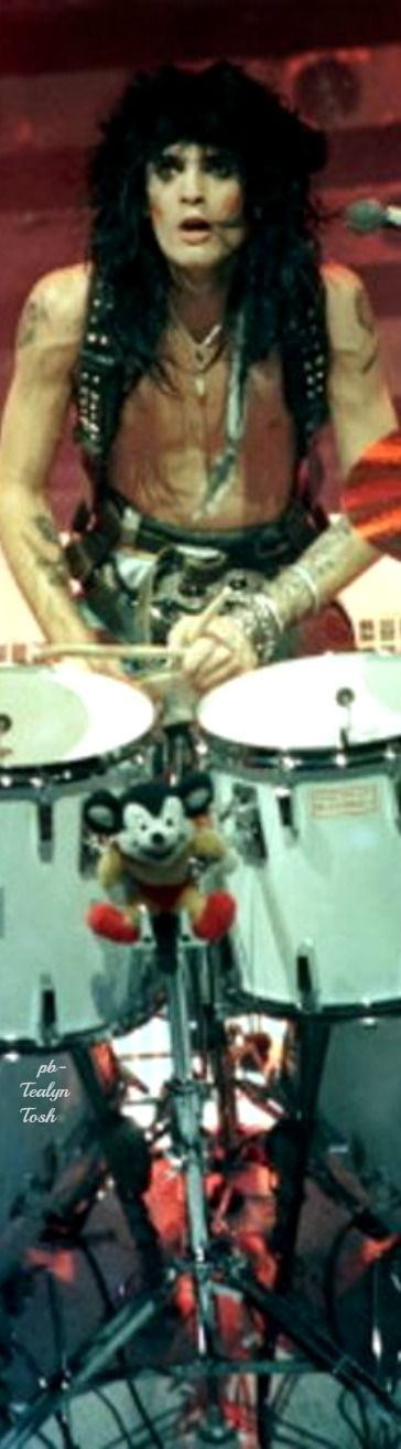 Tommy Lee Drummer for Motley Crue (Shout at the Devil)❇Téa Tosh