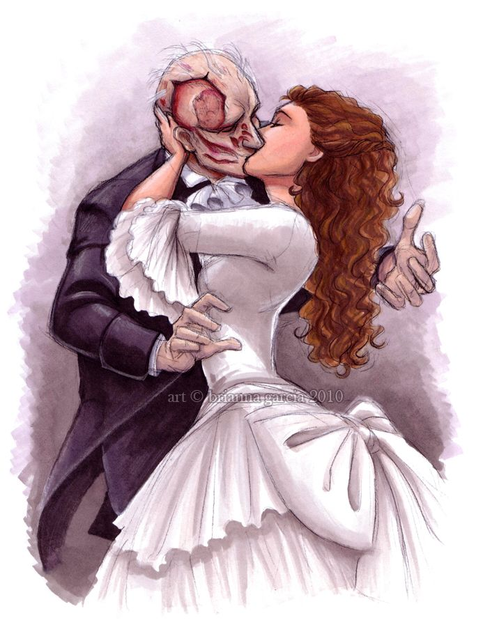 The Phantom of the Opera - you are not alone by briannacherrygarcia.deviantart.com