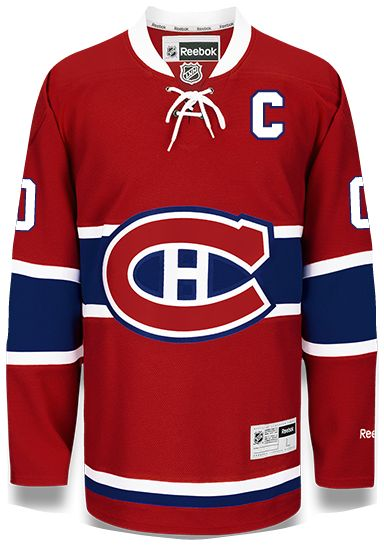 Montreal Canadiens Reebok Home Jersey