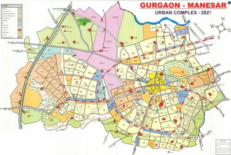 Gurgaon Map