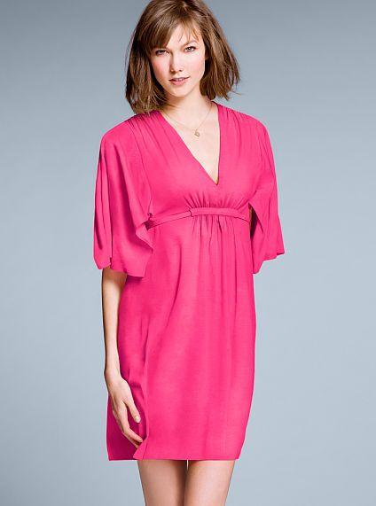 Flutter-sleeve Cover-up Dress