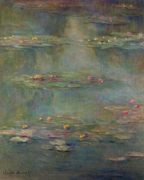 Monet: Monet Waterlili, Artsy Things, Favorite Artists, 1908 Claude, Claudemonet, Art What, Beautiful Art, Claude Monet Water Lilies, Art Monet